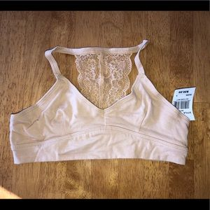 NWT Lace back bralette